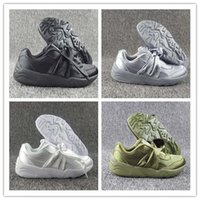 Wholesale Girl Bow Flats - 2017 Hot Sale Women Fenty Bandana Slide Sports Shoes Girl Suede Basket Running Shoes Rihanna Fenty Bow Sneakers Size 36-40