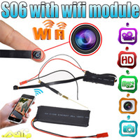 Wholesale Motion Detection Hd Camera Outdoor - 32GB HD 1920*1080P WiFi Mini DV DVR DIY Module 12 MP Spy IP Camera With Motion Detection For PC Smartphone Tablets