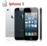 Wholesale Iphone Os - 2016 unlocked APPLE iPhone 5 Original Cell Phone iOS 8 OS Dual core 1G RAM 16GB 32GB 64GB ROM 4.0 inch 8MP Camera WIFI refurbished cellphone