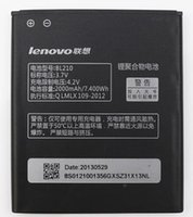 Wholesale Lenovo A656 - BL210 battery for lenovo S820 A656 S650 S658t S820E BL210 A770E A750E A766 A658T A828t A536 Battery mobile phone FEDEX fast delivery