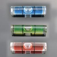 Wholesale Photo Bubbles - (25 pieces  lot) 8*35mm Plastic Tube Level Bubble Spirit level Bubble for Photo Frame Level Measurement Instrument