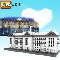 Wholesale London Model - LOZ 9374 Buckingham Palace Diamond Block World Famous Architecture Series Westminster London UK Model Building Toy Bricks 0.8 1570pcs
