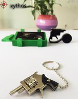 Wholesale 2017 The World Smallest Revolver mini toy Cute Model Only keychain