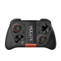 ingrosso mini controller del gamepad del bluetooth-MOCUTE 050 Gamepad wireless Bluetooth 3.0 Gmae Controller Joystick Mini Gamepad per telefoni Android / iSO Smartphone Android TV BOX