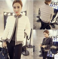 Wholesale Down Women Ae - Wholesale - 2015 New Women's AE White Down Coat Jacket Winter parka Fur Hooded Down Hoodies Outerwear
