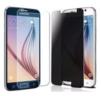 Wholesale tempered glasses s3 mini resale online - For Samsung Galaxy S7 S6 S5 S4 S3 Mini Ultra Thin Toughest Privacy Tempered Glass Hard Film Screen Protector in Packaging