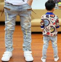 Wholesale High Joker - High quality of the spring and autumn joker jeans trousers boy baby children jeans N1