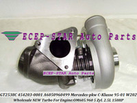 turbo td al por mayor-GT2538C 454203-0001 454203-1 6050960499 turbocompresor turbo para Mercedes PKW C-Klasse 1995-2001 250 TD W202 OM605.960 2.5L 150HP