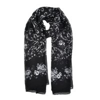Wholesale Floral Skin - fashion women scarf simple light rendering winter warm scarves close to skin Floral classical style SF871