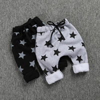 no brand sports leggings for kids - New Children Pants Star Warm Casual Sport Kid Leggings Autumn Winter Stylish Cotton Trousers for Boys Girls Hot Sale
