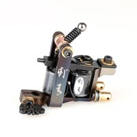 Wholesale Tattoo Cutting Machine - New Arrival Luo's Cutting Machine Tattoo Machine Guns Handmade For Liner Tattoo Supply High Quality TM2109