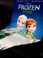 Wholesale Hot Girl Bath Boy - Hot Sale Frozen Bath Towel for Kids Summer Beach Washcloth Elsa Polyster Bath towel for boys and girls