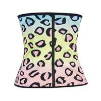 Wholesale Leopard Print Body Shaper - Multi Leopard Print Color Underbust Corset Shaperwear Latex Body Shaper Steampunk Clothing S M L XL XXL 3XL 4XL 5XL Tops Underwear