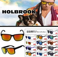 Wholesale Shipping Options - summer 13colors options Fashion Sunglasses Women Sports Sun glasses Holbrook men brand Designer outdoors Glasses UV400 FREE SHIPPING
