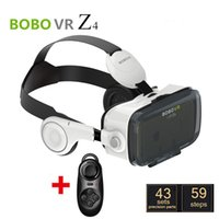 Wholesale Dhl Virtual Video Glasses - DHL BOBOVR Xiaozhai Z4 3D VR Glasses 3D Virtual Reality Glasses Binocular Immersive 3D Movie Video with headphone + Bluetooth Controller