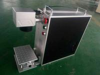máquinas de marcação a laser venda por atacado-Máquina portátil da marcação do laser da fibra 20w do metal com portátil