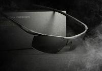 gafas veithdia al por mayor-Nuevo VEITHDIA aluminio magnesio gafas de sol de los hombres gafas de sol de recubrimiento polarizado gafas de sol gafas de hombre accesorios para hombres