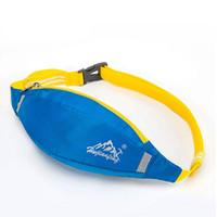 Wholesale Fanny Top - Wholesale- New 2017 Waterproof unisex Waist bag Belt Bum Waist Pouch Fanny Pack Zip arm leg Bag 6 color bolsa feminina top sale travel bags