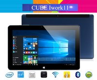 Compra Ips Tablet Intel Atom-Al por mayor-Cube Iwork11 Stylus Windows 10 + Android 5.1 Dual OS Tablet PC 10.6 '' IPS 1920x1080 Intel Atom Z8300-X5 Quad Core 4 GB de RAM 64 GB ROM