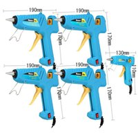 20/40/60/80 / 100W Potente riscaldamento elettrico Hot Melt Glue Gun Sticks + 5Glue Sticks Power Tools