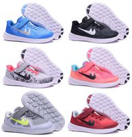 Wholesale Childrens Kids Shoes - (With Shoebox) 2017 New Free FN 5.0 TDV Kids Running Shoes Childrens Trainer 2.0 Walking Snakers