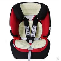 Wholesale Rattan Seat Cushions - Wholesale-Baby Stroller Mat Breathable Cool Infant Rattan Seats Prams Pushchairs Child Kids Folding Solid Cushion Pad