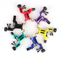 Wholesale Tattoo High Guns - New type Fancy Easy To Use Colorful High Quality Mini Tattoo Machine Dragonfly Rotary Tattoo Gun TM501