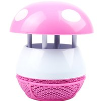 Wholesale Trapping Wholesale - LED Mosquito trap Lamp Zapper Pest Bug control Killer Light Cute Night Lantern 5V USB Connector Pink Blue Color Novelty Lighting