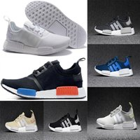 Wholesale Light Gray Red Sport Shoes - 2018 Wholesale Discount Cheap pink red gray NMD Runner R1 Primeknit PK Low Men's & Women's shoes Classic Fashion Sport Shoes