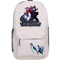 Wholesale Draven League Legends - The execution officer Draven backpack LOL school bag League of Legends daypack Quality schoolbag New game day pack