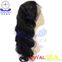 Wholesale Genesis Brazilian - Royal Sea Hair Grade AAAAAA Human Hair Genesis Virgin Full Lace Human Hair Wig
