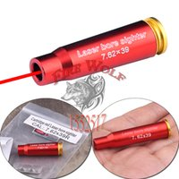 New Red Dot Laser Sight Bore Sighter 7.62x39 Cartucho Scopes Boresighter Hunting Optics frete grátis