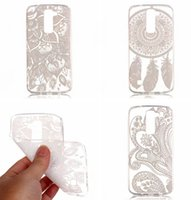 Wholesale Tribal Silicone - Mandala Flower Soft TPU Case Ultrathin Clear Transparent Dreamcatcher Tribal For Samsung Galaxy J310 2016 J3 Huawei P9 Lite LG K10 skin Back