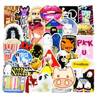 Wholesale Chinese 3d Posters - Diy stickers posters wall stickers for kids rooms home decor sticker on laptop skateboard luggage wall decals car sticker 500pcs