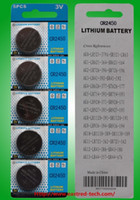 Batterie Bouton 12v Pas Cher-One lot = 440packs 12v A23 Battery + 60packs 12V A27 Battery + 100packs Batteries CR2450 bouton aux États-Unis Canada