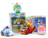 Wholesale Hot sale High Quality Robocar poli deformation car bubble South Korea Thomas toys models mix robocar poli