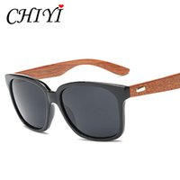 Wholesale-CHIYI Sports Fishing Brillen Männliche Handwerk Natural Wood Sun-Glas-Weinlese-Maxi-Rahmen Bambus-Sonnenbrille-Frauen New CY124