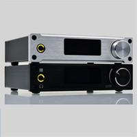 усилитель класса d hifi оптовых-Freeshiping XMOS ALIENTEK D8 80 Вт*2 мини HiFi стерео аудио цифровой усилитель для наушников коаксиальный / оптический / USB DAC класс D усилитель+источник питания
