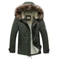 Wholesale sheep s wool - Wholesale- 2016 Men's casual clothing, sheep wool liner thermal wadded jacket men, hot sale winter mens jacket coat,free shipping