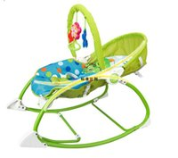 Wholesale Baby Portable Rocker - NEW STYLE electric baby swing chair baby rocking chair toddler rocker vibrating baby bouncer free shipping