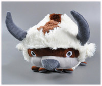 Wholesale Christmas Day Anime - Hot Sale 1pcs Anime Kawaii Avatar Last Airbender Appa Plush cow Toy Soft Juguetes Stuffed Animal Brinquedos Doll Kids