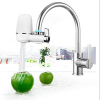Wholesale Ceramic Water Filters Wholesalers - Kitchen Faucet Tap Water Filter Faucet Mount Water Purifier Household Purifier Washable Ceramic Filter Mini Water Purification OOA2423