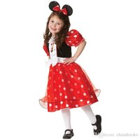 Wholesale Girl Suit Dance Costume - New Halloween costume Children's Dress suit Lovely girl clothes cosplay role Party Dance dress Free DHL FedEx