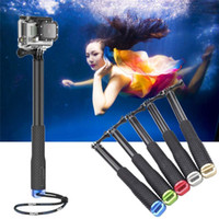 Wholesale Handheld Masks - High Quality Extendable Monopod WiFi Remote Attachable Remote Pole Handheld Stick for Action Cam SJ4000 Camera