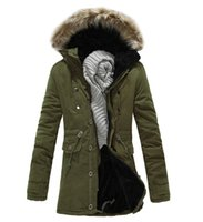 Wholesale Thick Warm Fleeces Mens - Thick Overcoat Warm Fleece Mens Hooded Jacket Soft Fur Collar Down Jacket Men Overcoat Large Size For Winter Autumn
