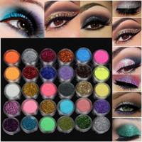 conjuntos de sombras de ojos minerales al por mayor-colección otoño Eyeshadow Eye Shadow 60 Color Mineral Glitter Matt Matte Conjunto de paleta de cosméticos Box Glitter Shimmer