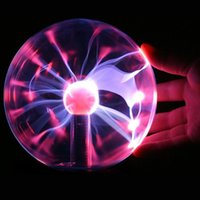 Wholesale Electrostatic Lamp - New Arrival electrostatic Plasma Ball light lamp Party magical ball night light birthday gifts home decoration