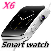Wholesale Watch X6 - X6 Smart Watch Clock With Sim TF Card Slot Bluetooth suitable for ios Android Phone Smartwatch