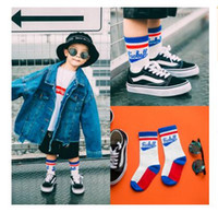 Wholesale High Quality Girls Socks - Baby Socks For Kids Boys Top Quality Winter Cute Cotton Sport Funny Knee High Socks Toddler Infant Girls Socks Gifts Christmas 18 Styles