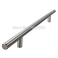 Wholesale 2015 High Standard x400x256mm Hollow Lighweight Stainless Steel Bar Pulls Cabinet Hardware Drawer Knobs Pulls Hinges